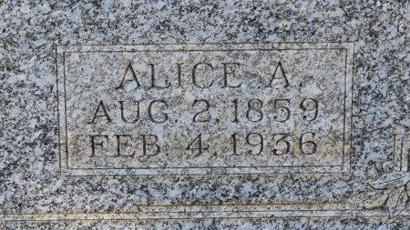 DAWSON, ALICE A (CLOSE UP) - Claiborne County, Louisiana   ALICE A (CLOSE UP) DAWSON - Louisiana Gravestone Photos