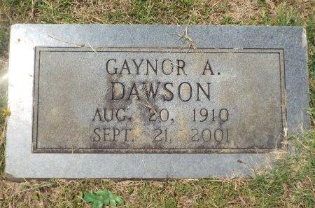 DAWSON, GAYNOR A - Claiborne County, Louisiana   GAYNOR A DAWSON - Louisiana Gravestone Photos