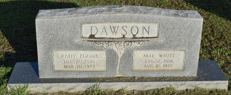 DAWSON, GRADY TOOMBS - Claiborne County, Louisiana | GRADY TOOMBS DAWSON - Louisiana Gravestone Photos