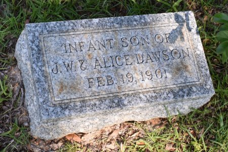 DAWSON, INFANT - Claiborne County, Louisiana | INFANT DAWSON - Louisiana Gravestone Photos