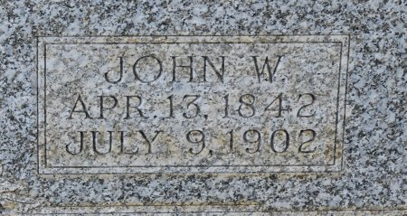 DAWSON, JOHN W (CLOSE UP) - Claiborne County, Louisiana | JOHN W (CLOSE UP) DAWSON - Louisiana Gravestone Photos
