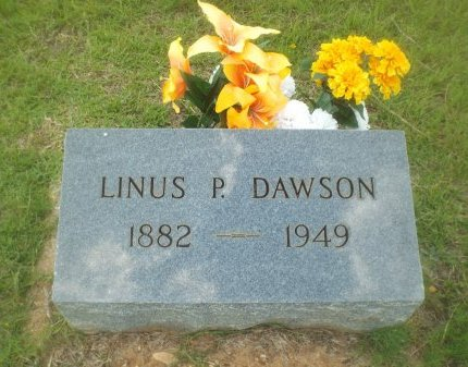 DAWSON, LINUS P - Claiborne County, Louisiana | LINUS P DAWSON - Louisiana Gravestone Photos