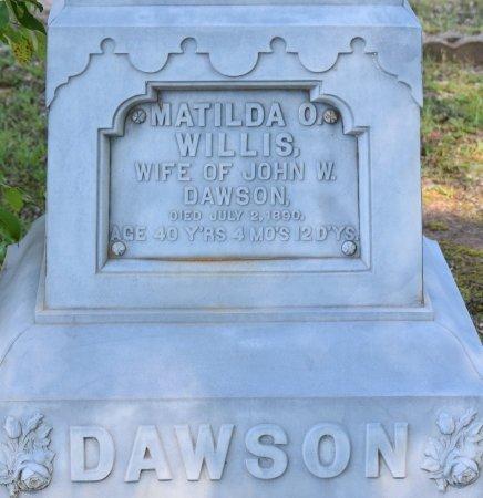 DAWSON, MATILDA O (CLOSE UP) - Claiborne County, Louisiana | MATILDA O (CLOSE UP) DAWSON - Louisiana Gravestone Photos