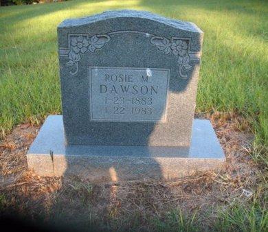 DAWSON, ROSIE M - Claiborne County, Louisiana | ROSIE M DAWSON - Louisiana Gravestone Photos