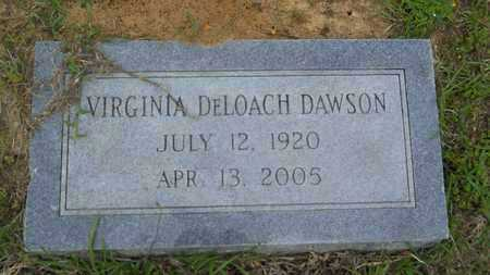 DAWSON, VIRGINIA - Claiborne County, Louisiana | VIRGINIA DAWSON - Louisiana Gravestone Photos