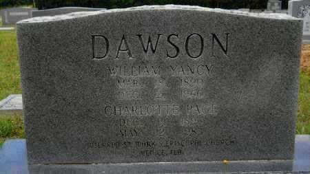 DAWSON, WILLIAM YANCY - Claiborne County, Louisiana   WILLIAM YANCY DAWSON - Louisiana Gravestone Photos
