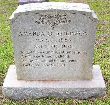 DICKINSON, AMANDA O - Claiborne County, Louisiana   AMANDA O DICKINSON - Louisiana Gravestone Photos