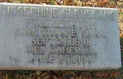 FEATHERSTON, JOSEPHINE - Claiborne County, Louisiana   JOSEPHINE FEATHERSTON - Louisiana Gravestone Photos