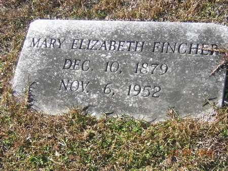 TORBET FINCHER, MARY ELIZABETH - Claiborne County, Louisiana | MARY ELIZABETH TORBET FINCHER - Louisiana Gravestone Photos