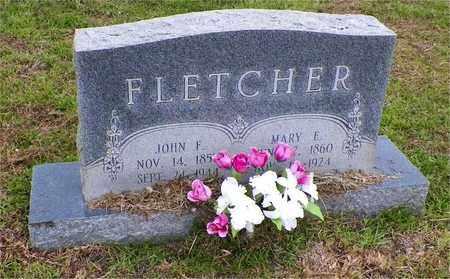 HOLT FLETCHER, MARY E - Claiborne County, Louisiana | MARY E HOLT FLETCHER - Louisiana Gravestone Photos