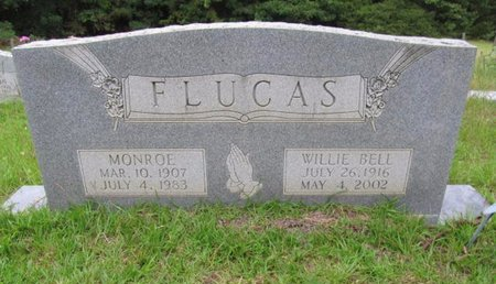 FLUCAS, WILLIE BELL - Claiborne County, Louisiana | WILLIE BELL FLUCAS - Louisiana Gravestone Photos
