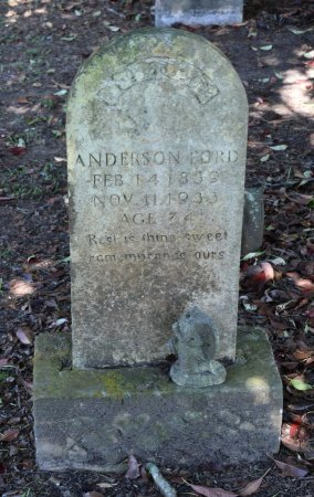 FORD, ANDERSON - Claiborne County, Louisiana | ANDERSON FORD - Louisiana Gravestone Photos