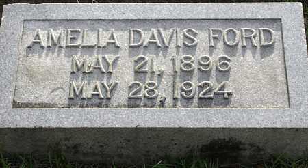 FORD, AMELIA - Claiborne County, Louisiana | AMELIA FORD - Louisiana Gravestone Photos