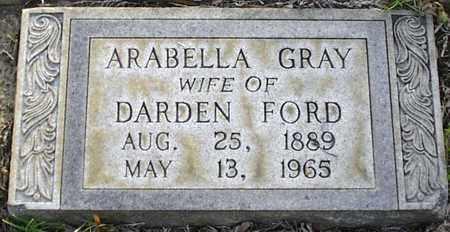 FORD, ARABELLA - Claiborne County, Louisiana | ARABELLA FORD - Louisiana Gravestone Photos