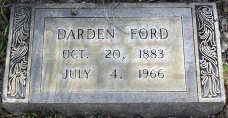 FORD, DARDEN - Claiborne County, Louisiana | DARDEN FORD - Louisiana Gravestone Photos