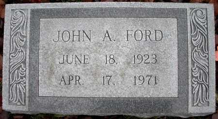 FORD, JOHN A - Claiborne County, Louisiana | JOHN A FORD - Louisiana Gravestone Photos