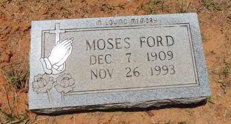 FORD, MOSES - Claiborne County, Louisiana | MOSES FORD - Louisiana Gravestone Photos