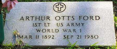 FORD, ARTHUR OTTS (VETERAN WWI) - Claiborne County, Louisiana | ARTHUR OTTS (VETERAN WWI) FORD - Louisiana Gravestone Photos