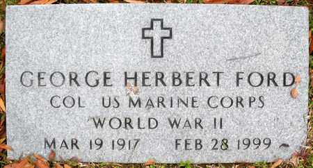 FORD, GEORGE HERBERT (VETERAN WWII) - Claiborne County, Louisiana | GEORGE HERBERT (VETERAN WWII) FORD - Louisiana Gravestone Photos