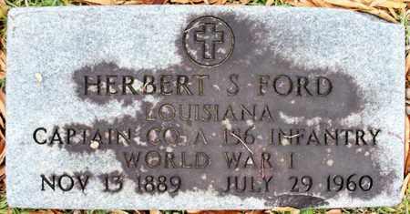 FORD, HERBERT S (VETERAN WWI) - Claiborne County, Louisiana   HERBERT S (VETERAN WWI) FORD - Louisiana Gravestone Photos