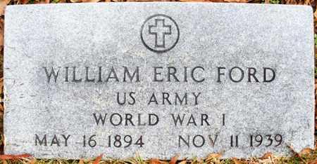 FORD, WILLIAM ERIC (VETERAN WWI) - Claiborne County, Louisiana | WILLIAM ERIC (VETERAN WWI) FORD - Louisiana Gravestone Photos
