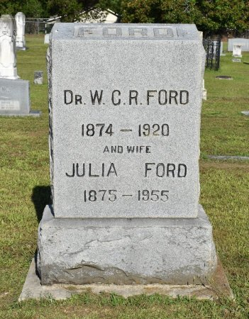 FORD, W C R, DR - Claiborne County, Louisiana | W C R, DR FORD - Louisiana Gravestone Photos