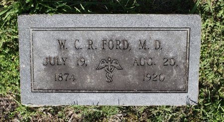 FORD, W C R, DR (FOOTSTONE) - Claiborne County, Louisiana | W C R, DR (FOOTSTONE) FORD - Louisiana Gravestone Photos