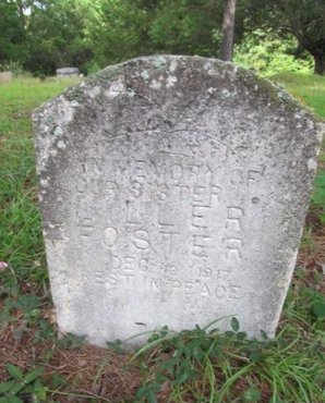 FOSTER, LILLER - Claiborne County, Louisiana | LILLER FOSTER - Louisiana Gravestone Photos