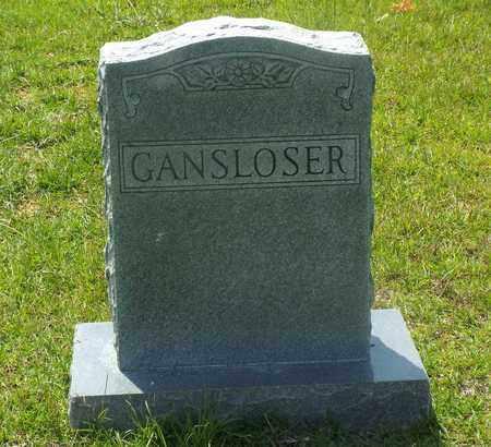 GANSLOSER FAMILY MARKER,  - Claiborne County, Louisiana    GANSLOSER FAMILY MARKER - Louisiana Gravestone Photos