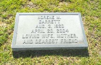 GARRETT, NORENE - Claiborne County, Louisiana | NORENE GARRETT - Louisiana Gravestone Photos