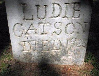 GATSON, LUDIE - Claiborne County, Louisiana | LUDIE GATSON - Louisiana Gravestone Photos