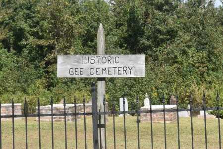 *GEE CEMETERY SIGN,  - Claiborne County, Louisiana |  *GEE CEMETERY SIGN - Louisiana Gravestone Photos