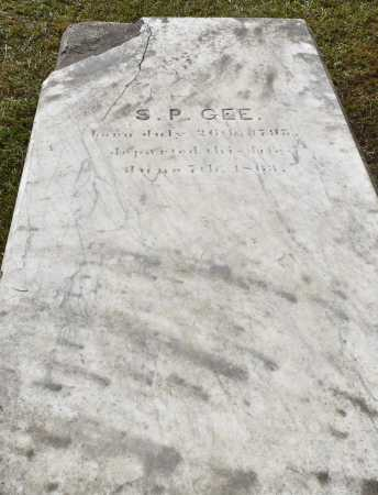 GEE, S P - Claiborne County, Louisiana | S P GEE - Louisiana Gravestone Photos