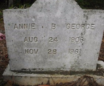 GEORGE, ANNIE B - Claiborne County, Louisiana | ANNIE B GEORGE - Louisiana Gravestone Photos