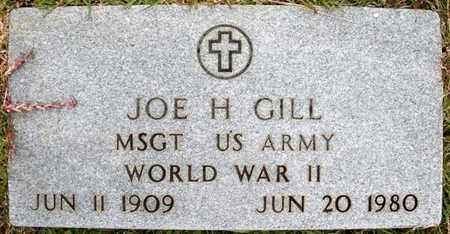 GILL, JOE H (VETERAN WWII) - Claiborne County, Louisiana | JOE H (VETERAN WWII) GILL - Louisiana Gravestone Photos