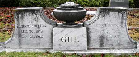 GILL, RICHARD SHELTON - Claiborne County, Louisiana | RICHARD SHELTON GILL - Louisiana Gravestone Photos