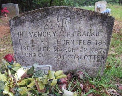 GLENN, FRANKIE B - Claiborne County, Louisiana | FRANKIE B GLENN - Louisiana Gravestone Photos