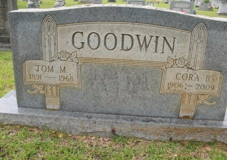 GOODWIN, CORA - Claiborne County, Louisiana | CORA GOODWIN - Louisiana Gravestone Photos
