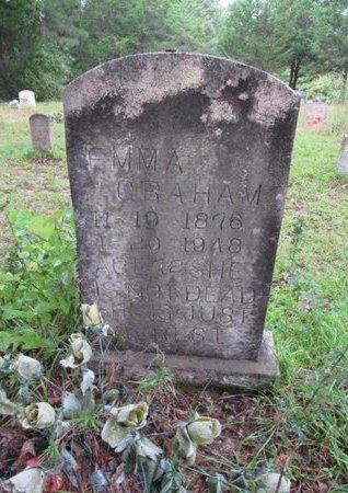 GRAHAM, EMMA - Claiborne County, Louisiana   EMMA GRAHAM - Louisiana Gravestone Photos