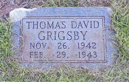 GRIGSBY, THOMAS DAVID - Claiborne County, Louisiana | THOMAS DAVID GRIGSBY - Louisiana Gravestone Photos