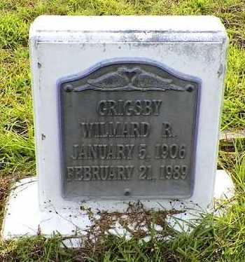 GRIGSBY, WILMARD RICHARD - Claiborne County, Louisiana | WILMARD RICHARD GRIGSBY - Louisiana Gravestone Photos