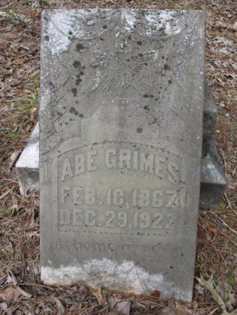 GRIMES, ABE - Claiborne County, Louisiana | ABE GRIMES - Louisiana Gravestone Photos