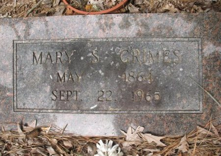 GRIMES, MARY S - Claiborne County, Louisiana | MARY S GRIMES - Louisiana Gravestone Photos