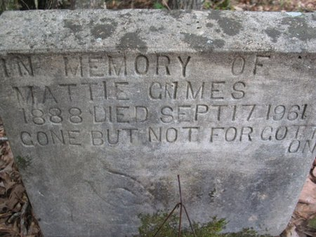 GRIMES, MATTIE - Claiborne County, Louisiana | MATTIE GRIMES - Louisiana Gravestone Photos