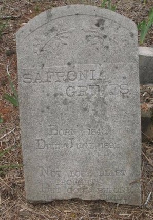 GRIMES, SAFRONIA - Claiborne County, Louisiana | SAFRONIA GRIMES - Louisiana Gravestone Photos