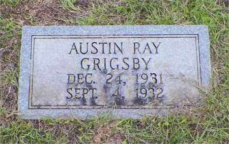 GRIGSBY, AUSTIN RAY - Claiborne County, Louisiana | AUSTIN RAY GRIGSBY - Louisiana Gravestone Photos