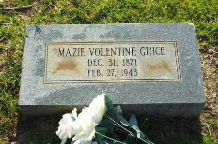 GUICE, MAZIE - Claiborne County, Louisiana | MAZIE GUICE - Louisiana Gravestone Photos