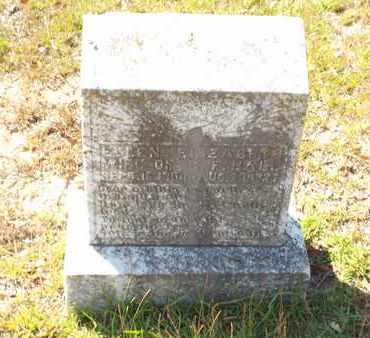 HALL, ELLEN ELIZABETH - Claiborne County, Louisiana | ELLEN ELIZABETH HALL - Louisiana Gravestone Photos