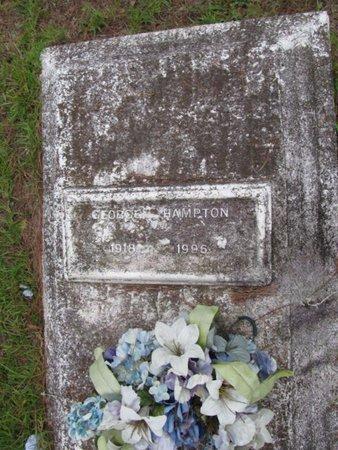 HAMPTON, GEORGE - Claiborne County, Louisiana | GEORGE HAMPTON - Louisiana Gravestone Photos