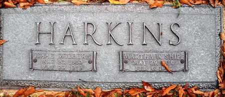 HARKINS, ISAAC WILBURN - Claiborne County, Louisiana | ISAAC WILBURN HARKINS - Louisiana Gravestone Photos